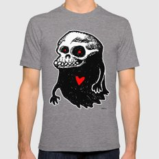 Freddy, the loving Skullghost Mens Fitted Tee Tri-Grey SMALL