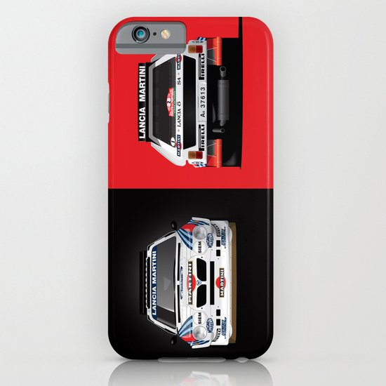 Group B Edition, N.º2, Lancia Delta S4 iPhone & iPod Case
