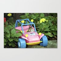 Leave The Driving To Me Canvas Print