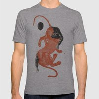 To The Beasts Mens Fitted Tee Athletic Grey SMALL