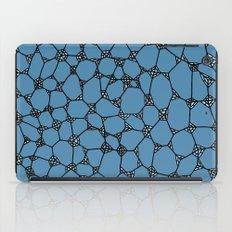 Yzor pattern 006 kitai blue iPad Case