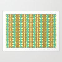 Pattern10 Art Print