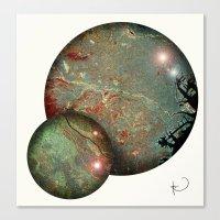 Tokyo Balls Canvas Print