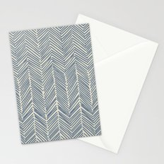 Freeform Arrows in navy Stationery Cards