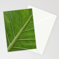 Elephant Ear Leaf Stationery Cards