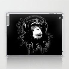 Monkey Business - Black Laptop & iPad Skin