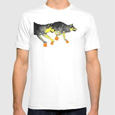 Going Wild 3 Mens Fitted Tee White SMALL