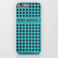 iPhone & iPod Case featuring Enemy Among Us II by WeTheConspirators