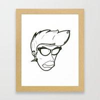 Sam. Framed Art Print