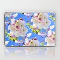 Cherry Blossom Girl Laptop & iPad Skin