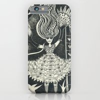 iPhone & iPod Case featuring Little Goddess by Trudy Creen