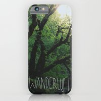 iPhone & iPod Case featuring Wanderlust by Leah Flores
