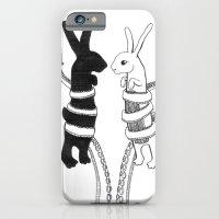 Rabbits Vs Octopus iPhone 6 Slim Case