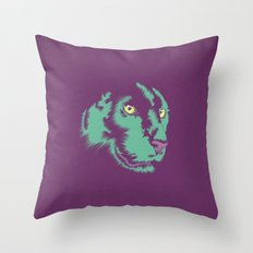 Panther Alt Throw Pillow