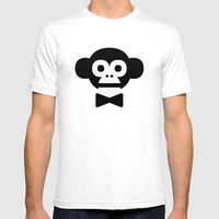 Smart Monkey Mens Fitted Tee White SMALL