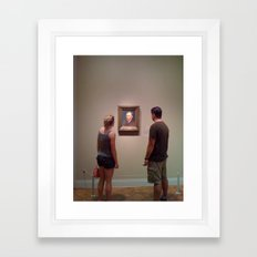 Museum Lust Framed Art Print