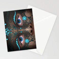 Halloween Mask - Painting Stationery Cards