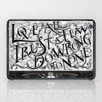 Love All iPad Case
