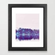 Framed Art Print featuring Soft Rendevouz #society6 by 83oranges.com