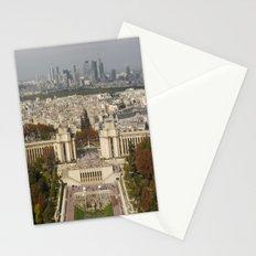 Aerial Paris Stationery Cards