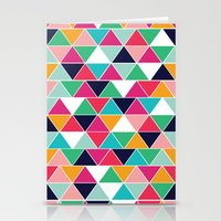 Love Triangle Stationery Cards