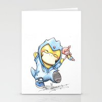 Psy Of Relief Stationery Cards
