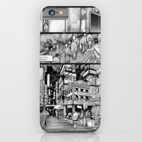 iPhone Cases featuring BounD: Issue 01 Page 10 by Hexapus Ink