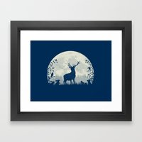 King Of The Forest Framed Art Print
