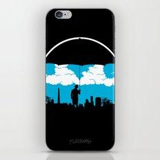Umbrella Man iPhone & iPod Skin