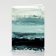 Abstract Minimalist Land… Stationery Cards