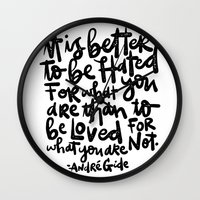 IT IS BETTER TO BE... Wall Clock