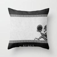 Metroid - The Chozo Geek… Throw Pillow