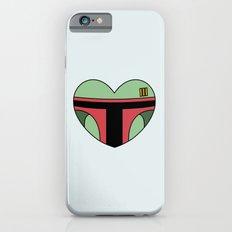 Boba Fett Character Heart Slim Case iPhone 6s