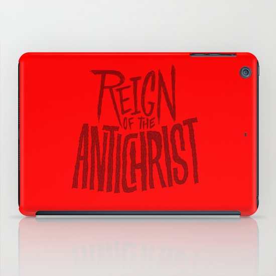 Reign of the Antichrist iPad Case