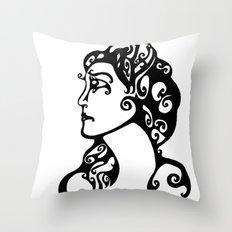 Gypsy Sorrow Throw Pillow