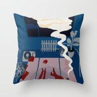 Midnight Talk Throw Pillow