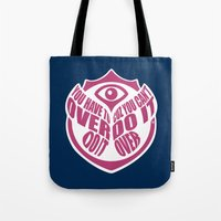 TomorrowWorld 2013 - Over Do It Tote Bag