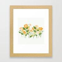 Karis Flowers Framed Art Print