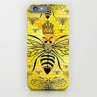 iPhone Cases featuring Queen Bee... by Lisa Argyropoulos