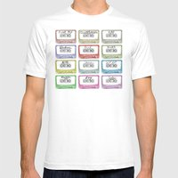 Tape Mix 1 Vintage Casse… Mens Fitted Tee White SMALL