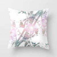 Colors Between And Throu… Throw Pillow