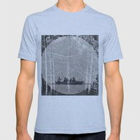 MOONRISE Mens Fitted Tee Athletic Blue SMALL