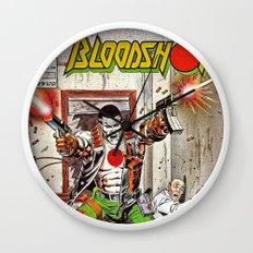 Bloodshot Shooting Wall Clock