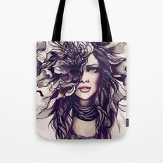eyes of the same face Tote Bag