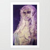 ELVISH BEAUTY Art Print