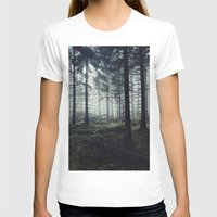 trees T-shirts featuring Through The Trees by Tordis Kayma
