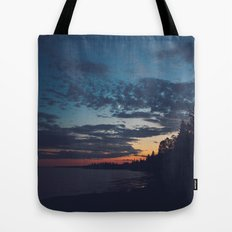 superior sunsets. Tote Bag