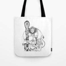 Four styles of the world Tote Bag