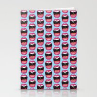 MOUTH BREATHER Stationery Cards