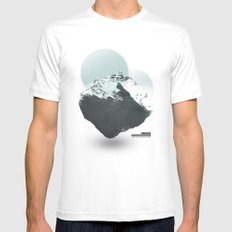 Mt. Everest - The Surreal North Face Mens Fitted Tee White SMALL